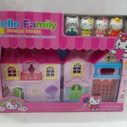 Rumah Hello Kitty Mainan