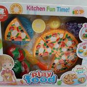 Play Food Pizza Mainan Anak