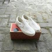 VANS OG VAULT LX SLIP-ON BONE WHITE