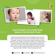 Herbal Alami Asma Anak, Aman Tanpa Dikonsumsi.