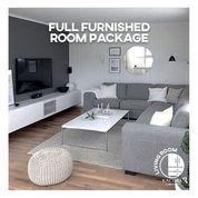 Ruang Tamu Dan Ruang Keluarga Full Furnish Kacima Furniture