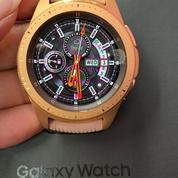 Samsung Galaxy Watch 42mm Bluetooth Fullset Mulus