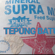 TEPUNG BATU - #Mineral #Calcium Untuk Campuran Pakan Ternak #Unggas #Petelor