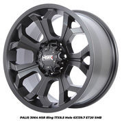 Velg Mobil Racing Murah Type PALIS 3064 HSR R17X85 H6X139,7 ET20 SMB