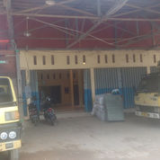 Tanah Dan Bangunan 1 Lantai Bertipe Gudang Pinggir Jalan Lingkar Selatan Dalam