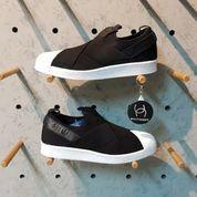 Adidas Superstar Slip On Black (Authentic)