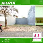 Tanah Kavling Murah Luas 300 Di Taman Golf Araya Kota Malang _ 087.20 (23808115) di Kota Malang