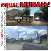 Tanah Surabaya MURAH Raya Bangkingan Dkt Wiyung Lakarsantri Cpt