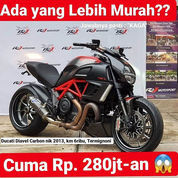Ducati Diavel Red Carbon 2013, Km 6ribu