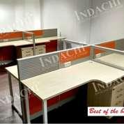 Meja Partisi 4 Staff Merk INDACHI (23821407) di Kota Jakarta Selatan