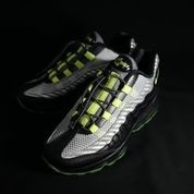 Nike Airmax 95 Black Black Volt Grey