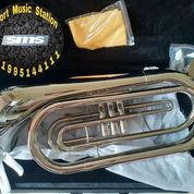 Baritone Marching Trumpet Terompet Amstrong Original Import Komplit