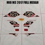 Striping Mio M3 2017 Full Merah (23834711) di Kota Jambi