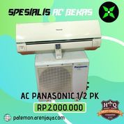 AC Panasonic 1/2 PK Low Watt 320 Watt Bergaransi Promo Pemasangan (23839771) di Kota Semarang