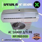 AC Sharp 3/4 PK Low Watt 595 Watt Bergaransi Siap Pasang Promo (23839835) di Kota Semarang