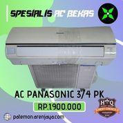 AC Panasonic 3/4 PK Low Watt 590 Watt Bergaransi Siap Pasang Promo (23840007) di Kota Semarang
