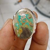 Natural Batu Cincin Pirus Pancawarna Antik (23853623) di Kota Pasuruan
