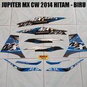 Striping Jupiter MX CW 2014 Hitam - Biru