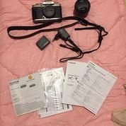 Second Fujifilm X-T100 (Lengkap Full Box) Kondisi 98% Mulus (23862579) di Kab. Bogor