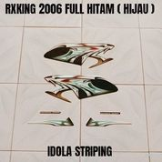 Striping RXKing 2006 Full Hitam ( Hijau )