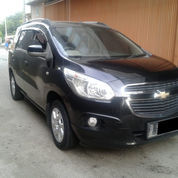 Chevrolet Spin LTZ A/T Th 2013 Hitam Metalik TDP7 LENGKAP (23873323) di Kota Jakarta Timur