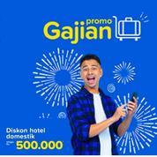 Tiket.com Diskon Hotel Domestik Hingga Rp 500.000!