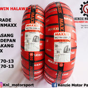 UPGRADE BAN NMAX - MAXXIS VICTRA 140/70-13 BELAKANG 120/70-13 DEPAN SEPAKET MURAH (23891223) di Kab. Tangerang