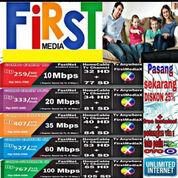 PROMO GRATIS PEMASANGAN INTERNET&TV CABLE FIRST MEDIA JABODETABEK DAFTAR SEGERA (23891891) di Kota Tangerang