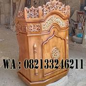 Mimbar Masjid Serang Banten Kayu Jati (23909511) di Kab. Jepara