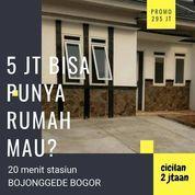 Rumah Syariah Exclusive & Minimalis Murah Siap HUNI Dekat Stasiun Bojonggede