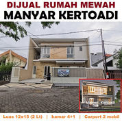Rumah MANYAR KERTOADI Surabaya Dk Kertajaya Klampis Mulyosari ITS (23925727) di Kota Surabaya