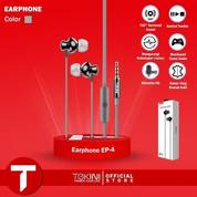 TEKINI EP 4 High Fidelity Subwoofer Earphone