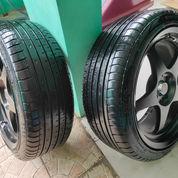4 Velg Racing HSR Wheel + Ban Accelera Phi-R Ukuran 205/45 R17 (23962463) di Kota Semarang