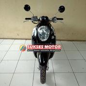 Honda Scoopy Tahun 2016 Hitam Dp 600,N Aja Kaka (23967783) di Kota Depok