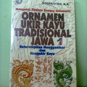 Buku Ornamen Ukir Kayu Tradisional Jawa 1 (23969983) di Kota Semarang