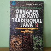Buku Ornamen Ukir Kayu Tradisional Jawa 2 (23970023) di Kota Semarang