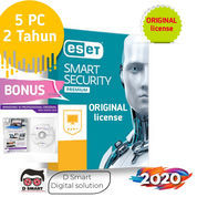 Antivirus ESET Smart Security 11 Premium Antivirus 5 PC 2 Tahun