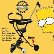 Stroller - Kursi Dorong Anak Kiddo 03 Rem Hitam (23999539) di Kota Surabaya