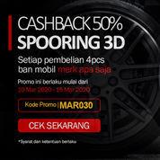 Promo Spooring 3D Cashback 50%