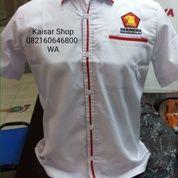 Baju Kemeja Parta Gerindra Terbaru 2020-2021 (24032963) di Kota Medan