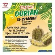 Festival Durian Happy Hour Durian (24050127) di Kota Tangerang Selatan