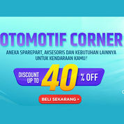 Elevenia Otomotif Corner Diskon Up to 40% Off