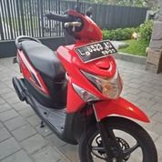 Honda Beat Pop 2015 Red