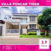 Rumah 2 Lantai Luas 312 Di Villa Puncak Tidar Kota Malang _ 104.20 (24066243) di Kota Malang