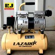 Mesin Kompresor Angin Silent Oilless 0,75HP Oilless Compressor Lazaro 3/4HP 9 Liter (24078643) di Kota Surabaya