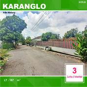 Tanah Kavling Murah Luas 187 Di Karanglo Indah Kota Malang _ 078.20