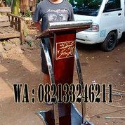 Mimbar Podium Masjid Minimalis Stainless Stell Al Munir Jakarta Timur (24079279) di Kab. Jepara