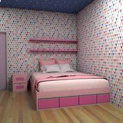 Master Room Anak Finishing HPL Raz Tech Furniture