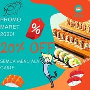Sushi Enju Promo Maret 2020 (24084915) di Kota Tangerang Selatan