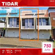 Ruko Murah Luas 51 Di Karangbesuki Tidar Kota Malang _ 653.19 (24086975) di Kota Malang